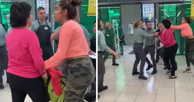 La pillan robando en un Mercadona y acaba agrediendo a los empleados