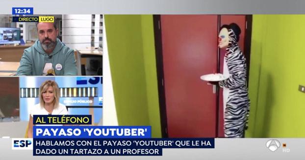 El youtuber de Lugo que dio un tartazo a un profesor: ''No sabía que era un delito''