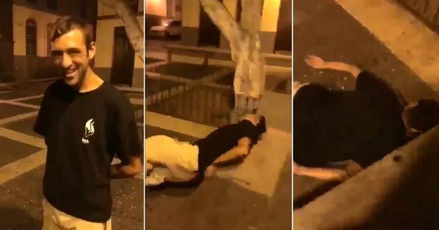 La Guardia Civil pide colaboración para encontrar a los responsables de esta agresión a un chico en el barrio de Vegueta, Las Palmas