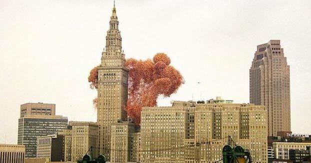 El trágico día en que un millón de globos volaron sobre Cleveland