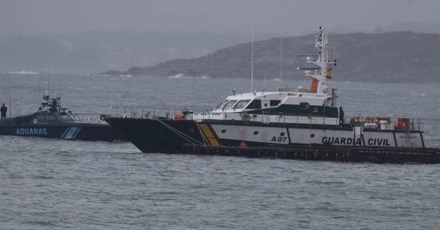 Interceptan el primer narcosubmarino transoceánico cargado de cocaína en las costas de Aldán, Pontevedra