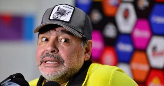 La excusa de Maradona tras una fiesta de tres días: ''Me llevaron los OVNIS''