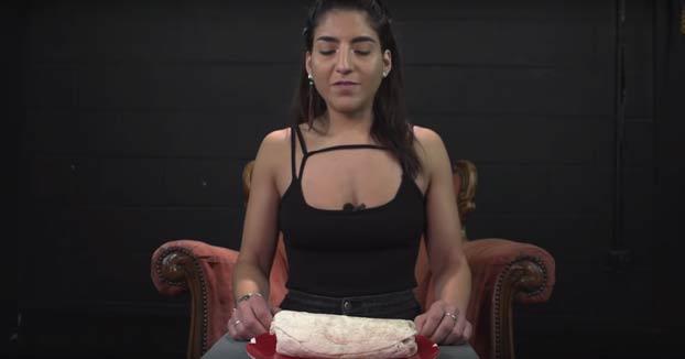 Esta mujer ha batido el récord de rapidez en comerse un burrito