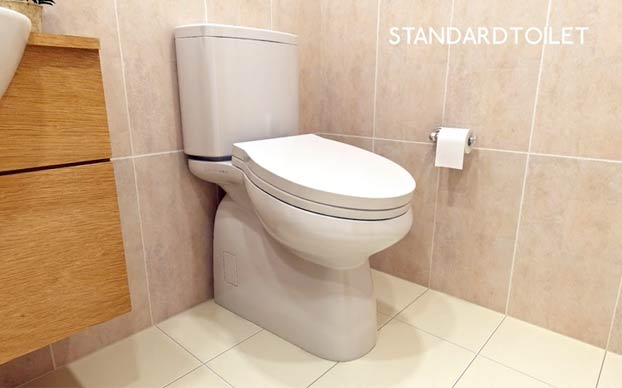 Un nuevo diseño de inodoro busca reducir los largos ''descansos'' en los baños del trabajo