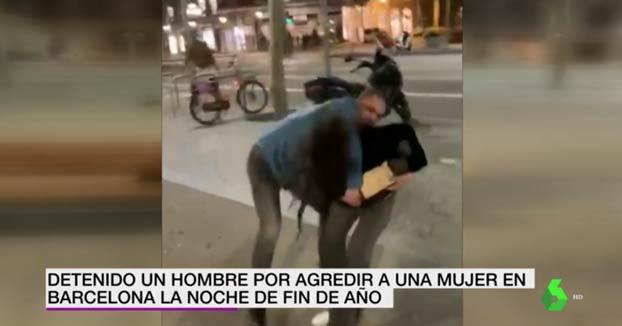Detenido un hombre por agredir a una mujer y a varios Mossos en Barcelona la noche de fin de año