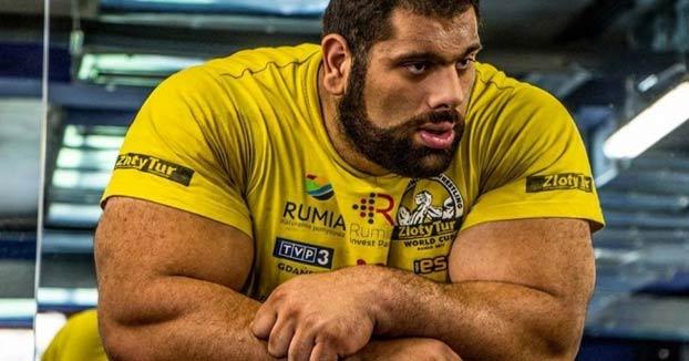 Levan Saginashvili, Campeón Mundial del pulsos