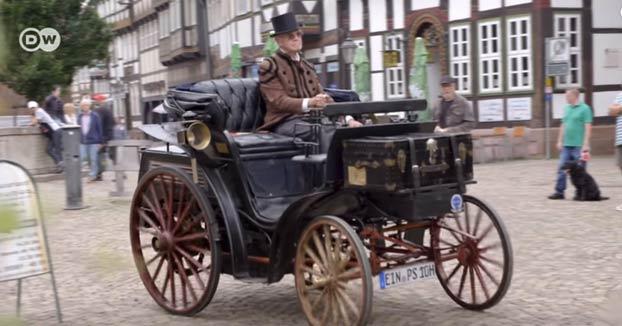 El automóvil más antiguo de Alemania en circulación legal