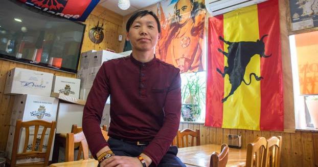 El 'chino facha' se queda sin bar: ''Me dicen que no lo quieren alquilar a un fascista''