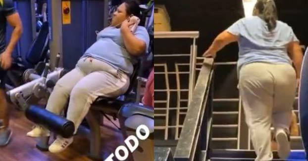 Le expulsan del gimnasio por burlarse de una mujer con sobrepeso y compartirlo en Instagram