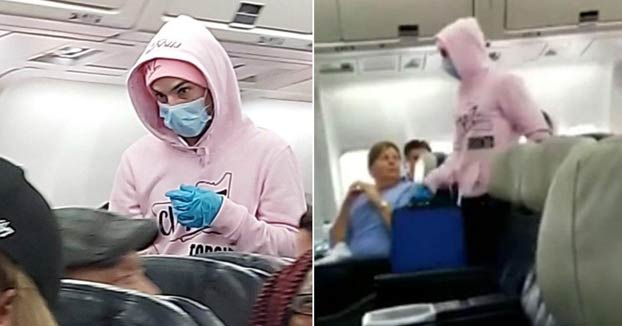 Un hombre finge tener el coronavirus en pleno vuelo y el avión regresa al aeropuerto
