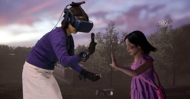 Una madre se reencuentra con su hija muerta a través de realidad virtual