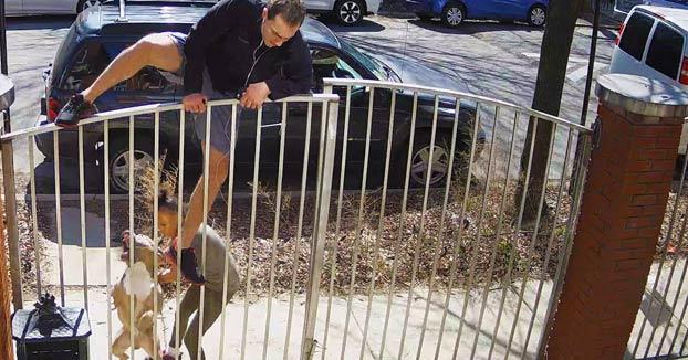 Una mujer no da controlado a su perro, se quita el bozal y ataca a un hombre que iba corriendo