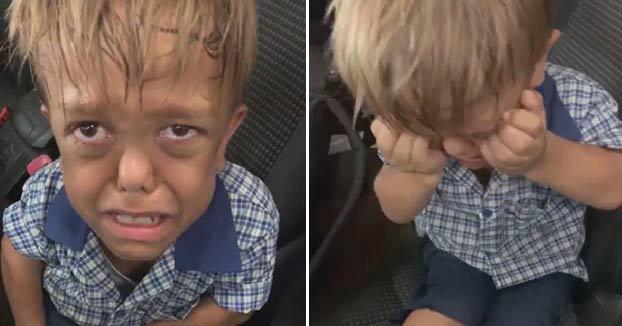 Una madre comparte el vídeo de su hijo pidiendo morir para concienciar sobre los efectos del bullying