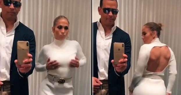 Jennifer López y Alex Rodríguez se suman al reto ''Flip the Switch Challenge''