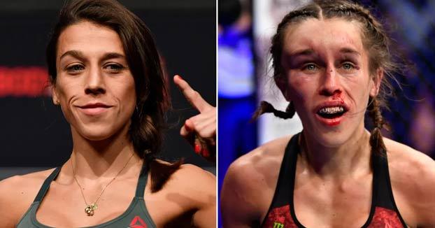 Joanna Jedrzejczyk acaba con la cara deformada en una de las mejores peleas de la historia de la UFC contra Zhang Weili