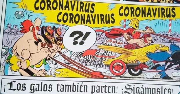 Astérix y Obélix ya se enfrentaron a Coronavirus en 2017