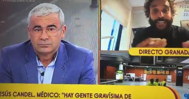 Jesús Candel (Spiriman), médico de Granada, explota contra el Gobierno en Sálvame