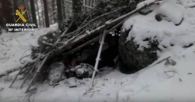 La pareja rescatada en la Sierra que se saltó el estado de alarma será sancionada con una multa que puede llegar a 30.000 euros