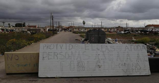 Los clanes gitanos de Son Banya, Mallorca, cierran el poblado