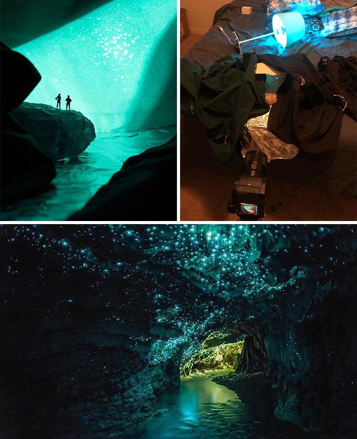 """Una fotógrafa de viajes encerrada en casa hace fotos """"de naturaleza"""" con objetos de casa"""