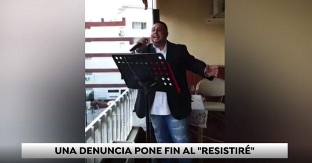 Un vecino de Nerja denuncia a otro que no paraba de cantar el 'Resistiré' tras los aplausos de las 8