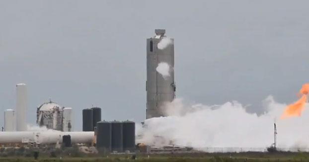 Prototipo de nuevo cohete Starship de SpaceX explota en una prueba