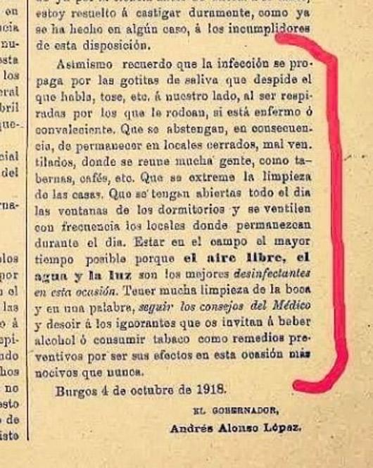 Mientras tanto, en 1918...