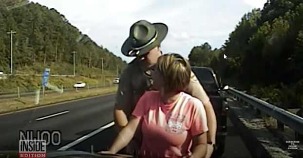 Un policía acusado de toquetear a una mujer durante una parada de tráfico rutinaria