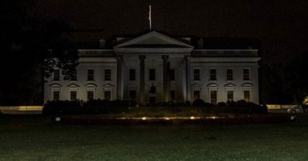 La Casa Blanca se apaga totalmente por primera vez en décadas