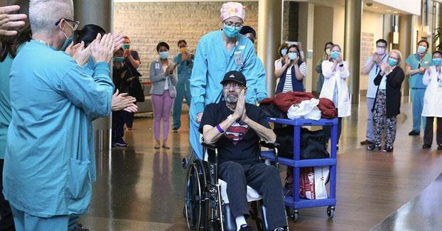 Un superviviente del coronavirus en Estados Unidos recibe una factura de 1,1 millones de dólares al salir del hospital