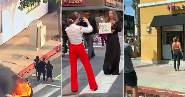 Estados Unidos está ardiendo. Así que los influencers han salido a fotografiarse junto a las llamas