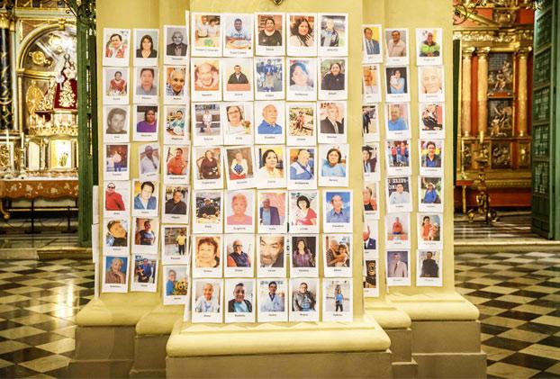 Colocan por error imagen de Jordi ENP en misa de fallecidos por coronavirus en Catedral de Lima