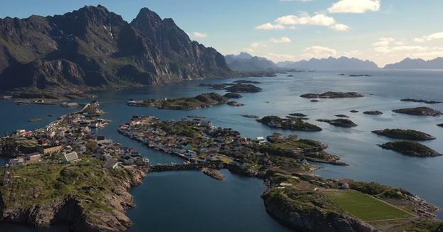 Noruega y la paradoja de la línea de costa