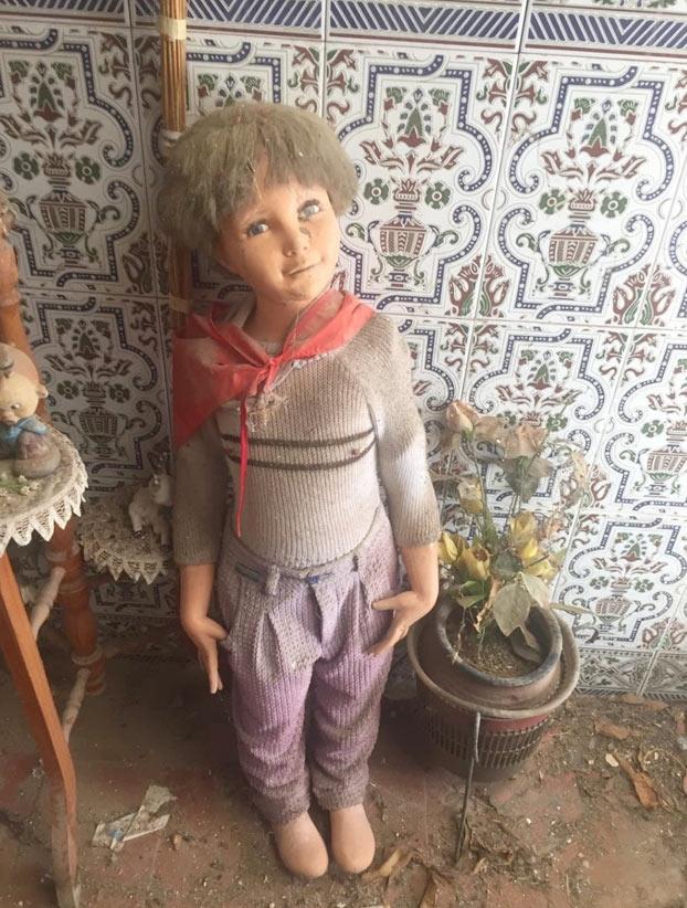 Venancio, el muñeco maldito, por tan sólo 500€ en Wallapop