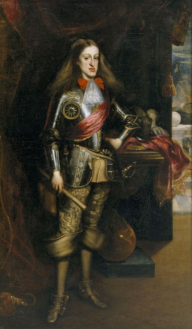 Los rayos X revelan una pintura de Carlos II El Hechizado que el artista pintó sobre una anterior