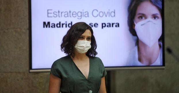 Madrid anuncia el uso obligatorio de mascarillas y una ''Cartilla Covid''