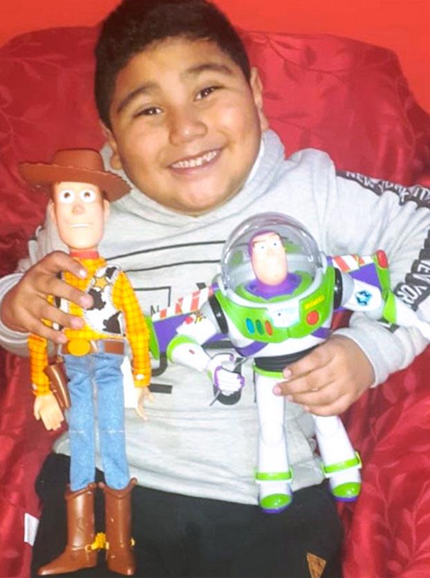 Dieguito, el niño que por su cumpleaños pidió ''tener una familia hermosa''
