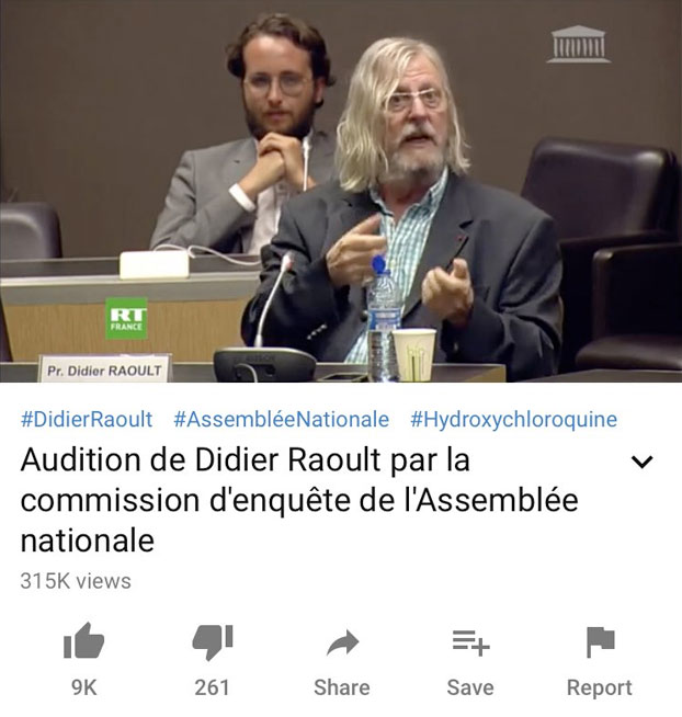 El Fernando Simón de Francia, es Mariano Rajoy con una peluca de Gandalf
