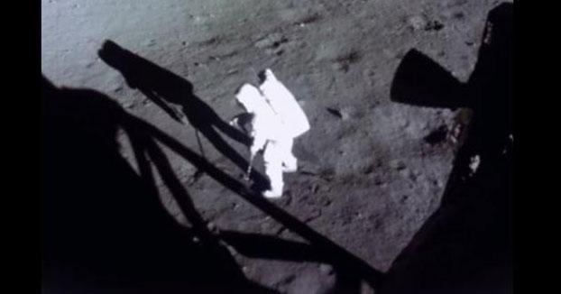 El increíble resultado de las imágenes de la llegada a la Luna restauradas con inteligencia artificial