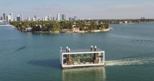ARKUP, la casa flotante que funciona con energía solar