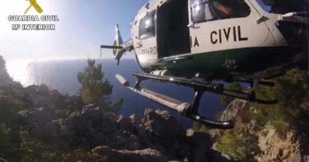 Un británico muere tras caer desde 150 metros en unos acantilados en Ibiza