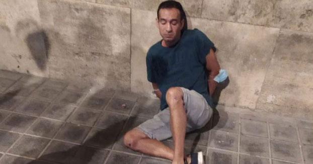 La jueza encarcela al ladrón que dio un codazo a una anciana en Valencia