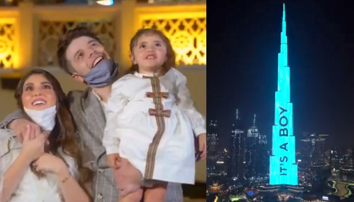 Gastan más de 80.000 euros para revelar el sexo de su próximo bebé con luces en Burj Khalifa de Dubai