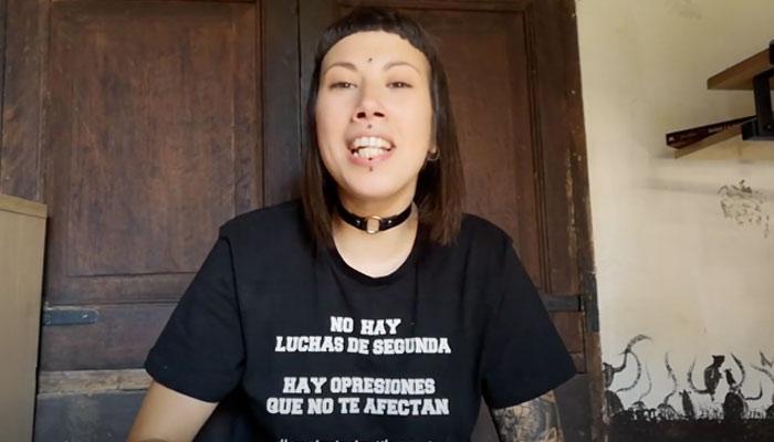 Fani, la transfemenista defensora de las 'gallinas violadas' publica un vídeo: ''Soy trabajadora sexual''