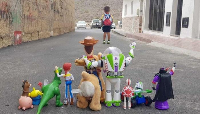 La mejor fotografía de la vuelta al cole en España
