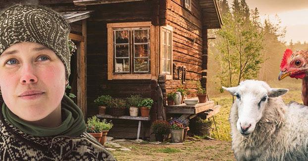 Esta pareja sueca nos enseña cómo vive, en plena naturaleza y totalmente desconectada del mundo