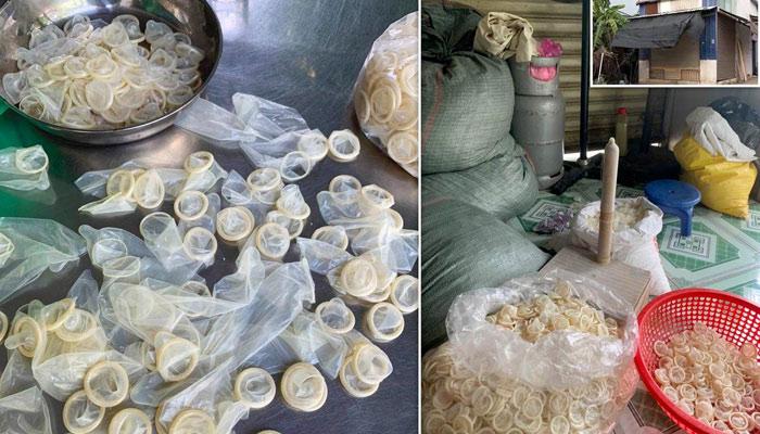 Desarticulan una banda que revendía preservativos usados: los lavaba y los empaquetaba como nuevos