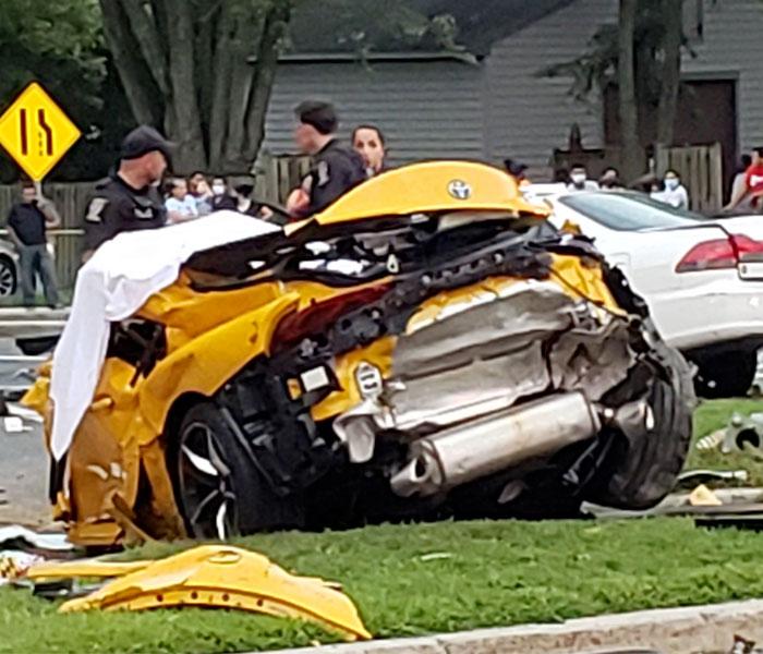Enseña su nuevo Toyota Supra 2020 en Instagram y luego tiene un accidente en el que pierde la vida