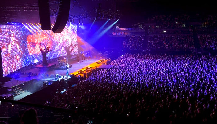 Más de 6.000 personas en el primer concierto en Nueva Zelanda en la nueva normalidad, después de semanas sin transmisión comunitaria