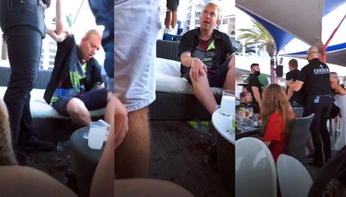 Dimite el alcalde de Manlleu (Cataluña) tras aparecer en un vídeo borracho y sin guardar medidas de seguridad en plena pandemia
